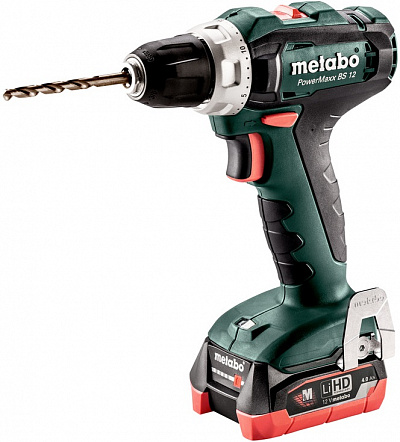 Винтоверт Metabo PowerMaxx BS 12 2х4.0Ач 601036800 47843